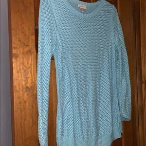 Sweater loft teal large